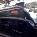 Steam hauled train service returns to Manchester Piccadilly train station